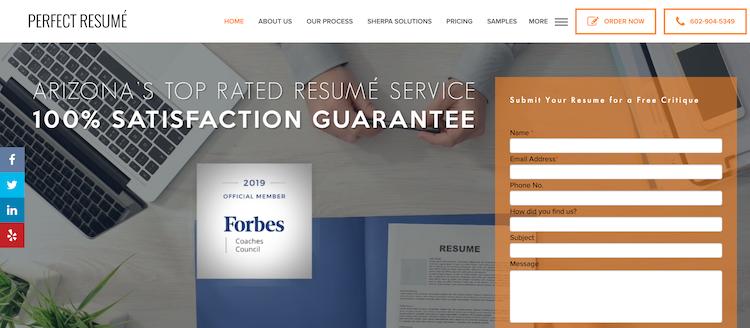 Perfect Resume - Best CMO Resume Service