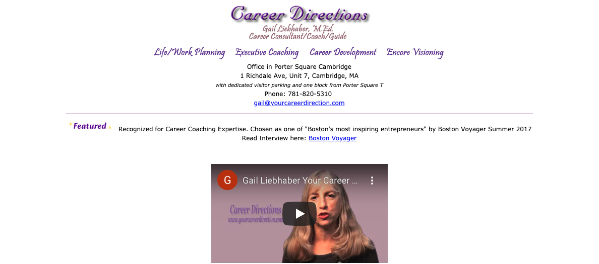 Career Directions- Best Boston Career Coach