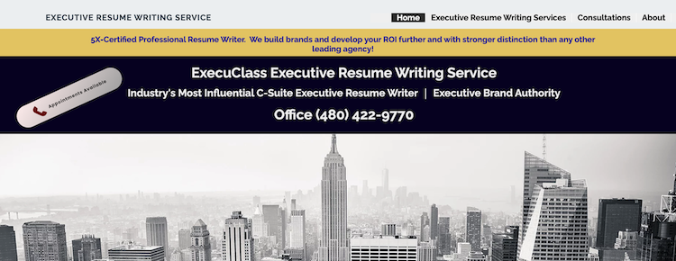 ExecuClass Resumes - Best CEO Resume Service
