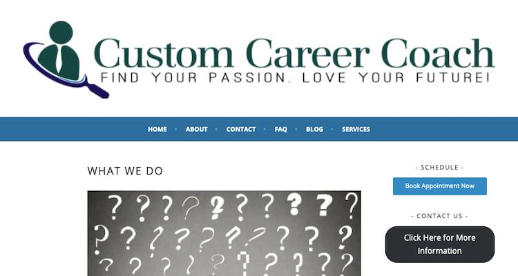 Custom Career Coach - Best Fort Worth Resume Service