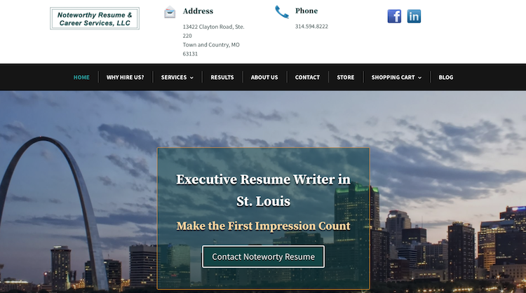 Noteworthy Resume & Career Services - Best Director Resume Service