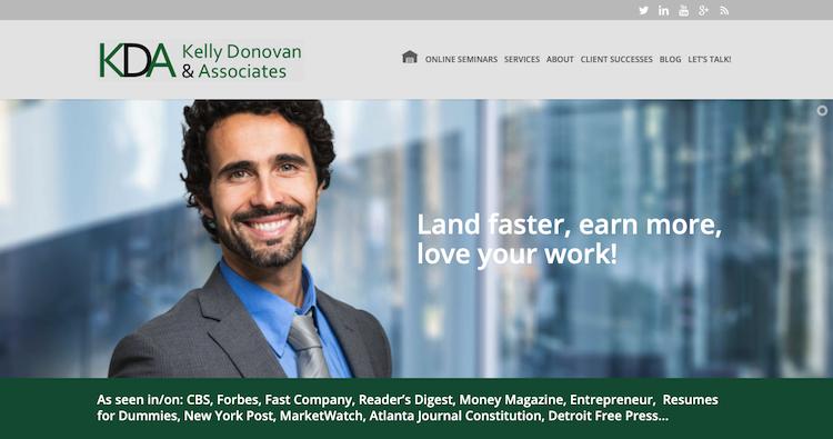 Kelly Donovan & Associates - Best Los Angeles Resume Service
