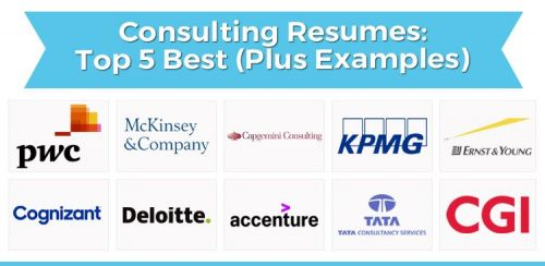 Consulting Resumes: Top 5 Best (Plus Examples)