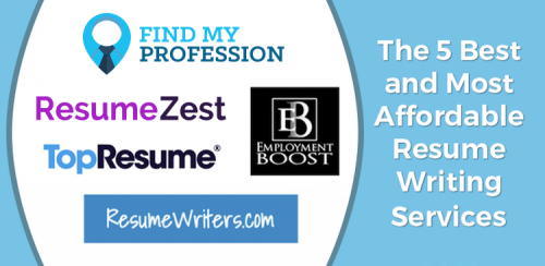 5 Best Affordable Resume Writing Services 2020 [+Samples]